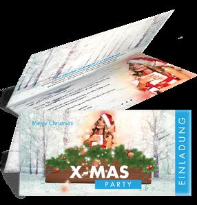 einladungskarte-weihnachten-weihnachtsengerl-blau-falz-oben
