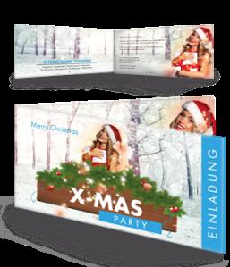 einladungskarte-weihnachten-weihnachtsengerl-blau-falz-seite