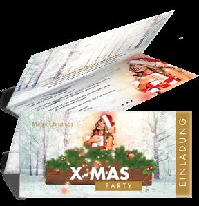 einladungskarte-weihnachten-weihnachtsengerl-gold-falz-oben