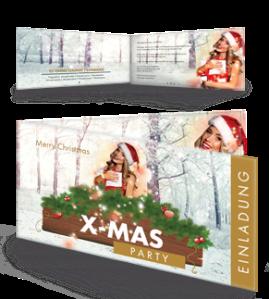 einladungskarte-weihnachten-weihnachtsengerl-gold-falz-seite