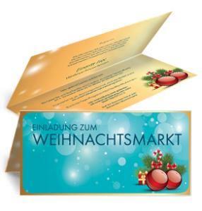 einladungskarte-weihnachten-weihnachtskugeln-falz-oben-blau