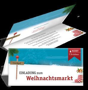 einladungskarte-weihnachtsmarkt-nordpol-blau-falz-oben