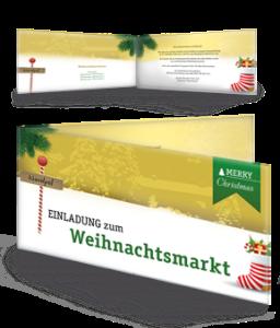 einladungskarte-weihnachtsmarkt-nordpol-gelb-falz-seite