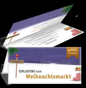 einladungskarte-weihnachtsmarkt-nordpol-violett-falz-oben