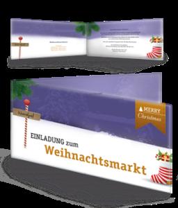 einladungskarte-weihnachtsmarkt-nordpol-violett-falz-seite
